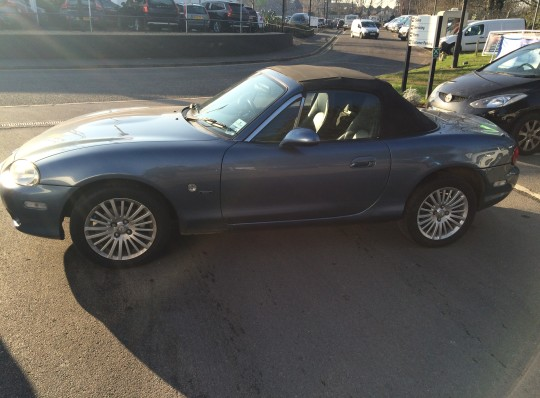 RUST REPAIRS TO A MAZDA MX5