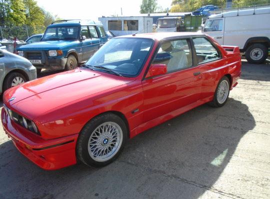 REPAIRS TO CLASSIC BMW M3