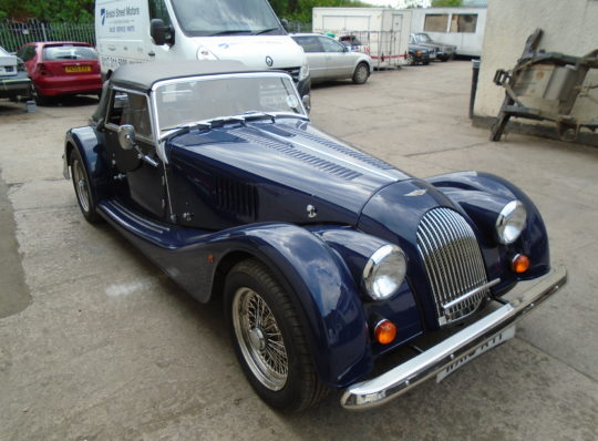 BODYWORK REPAIRS TO A MORGAN PLUS 4